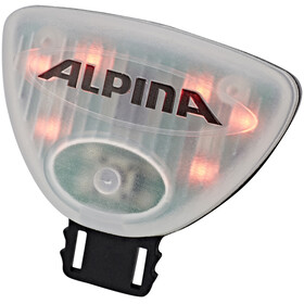 Alpina Flash Light Gamma Children red/transparent